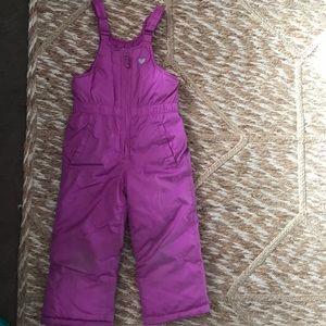 Osh Kosh Toddler Girls Size 4 snow pants